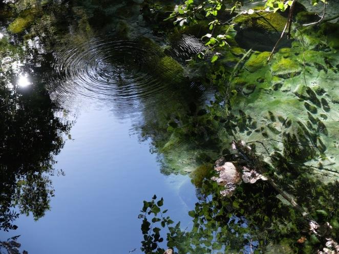 Hot springs ripple