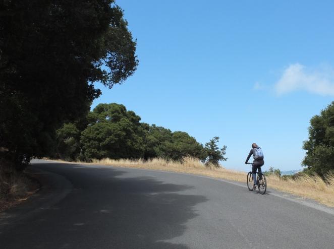 Angel Island trip Sandy bike