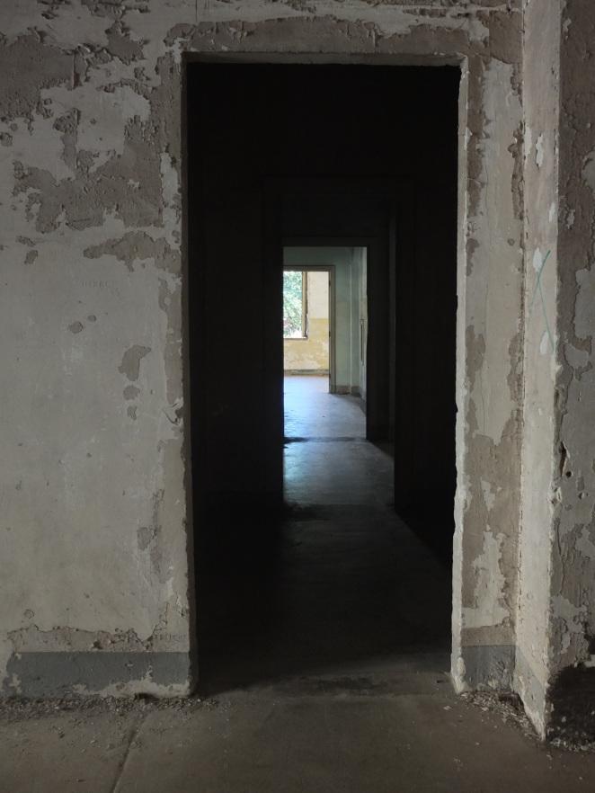 Angel Island - old building more doors