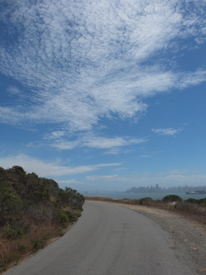 Angel Island - skies