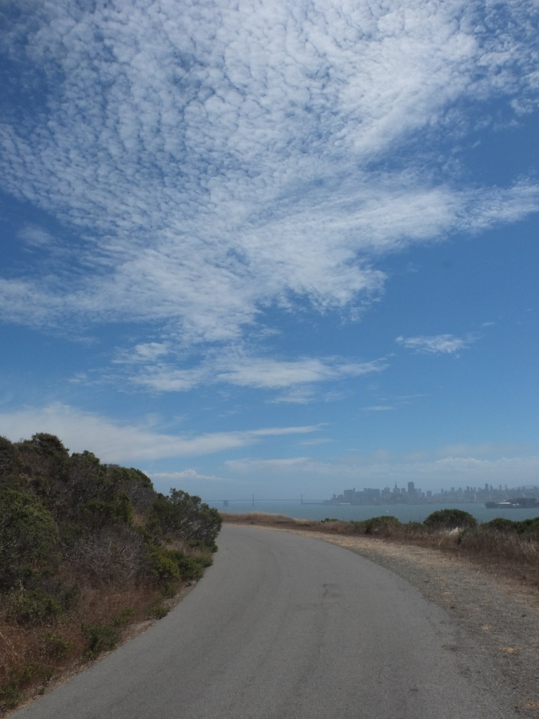 Angel Island - skies