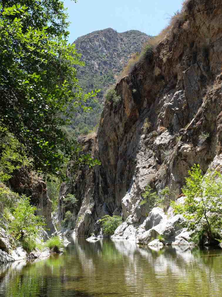 Arroyo Seco hike - gorge 4