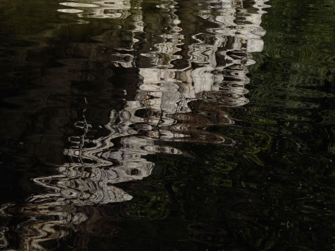 Narrows reflection down black 4