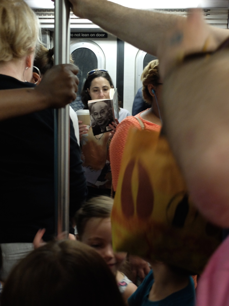 On the subway - one moment of calm
